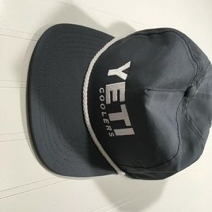 Yeti Accessories - Yeti Coolers Mens Gray Trucker Hat OS Snap Back